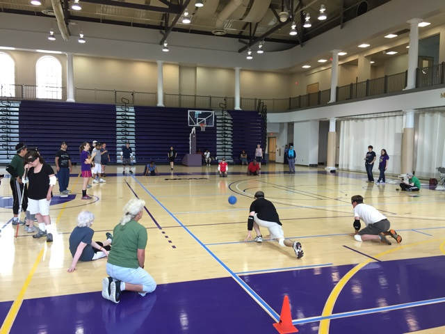 Goalball in motion